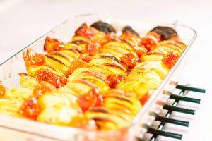 Peruna tomaatti uunivuoka 3