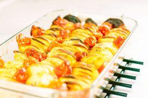 Peruna tomaatti uunivuoka 4