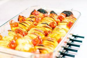 Peruna tomaatti uunivuoka 5