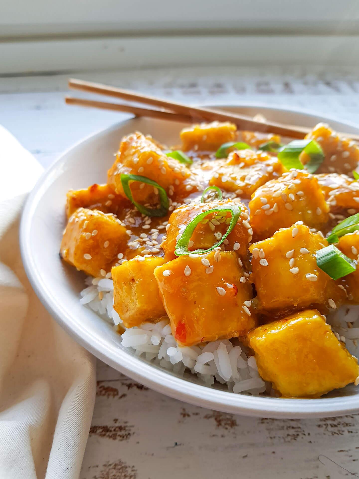 appelsiini tofukastike