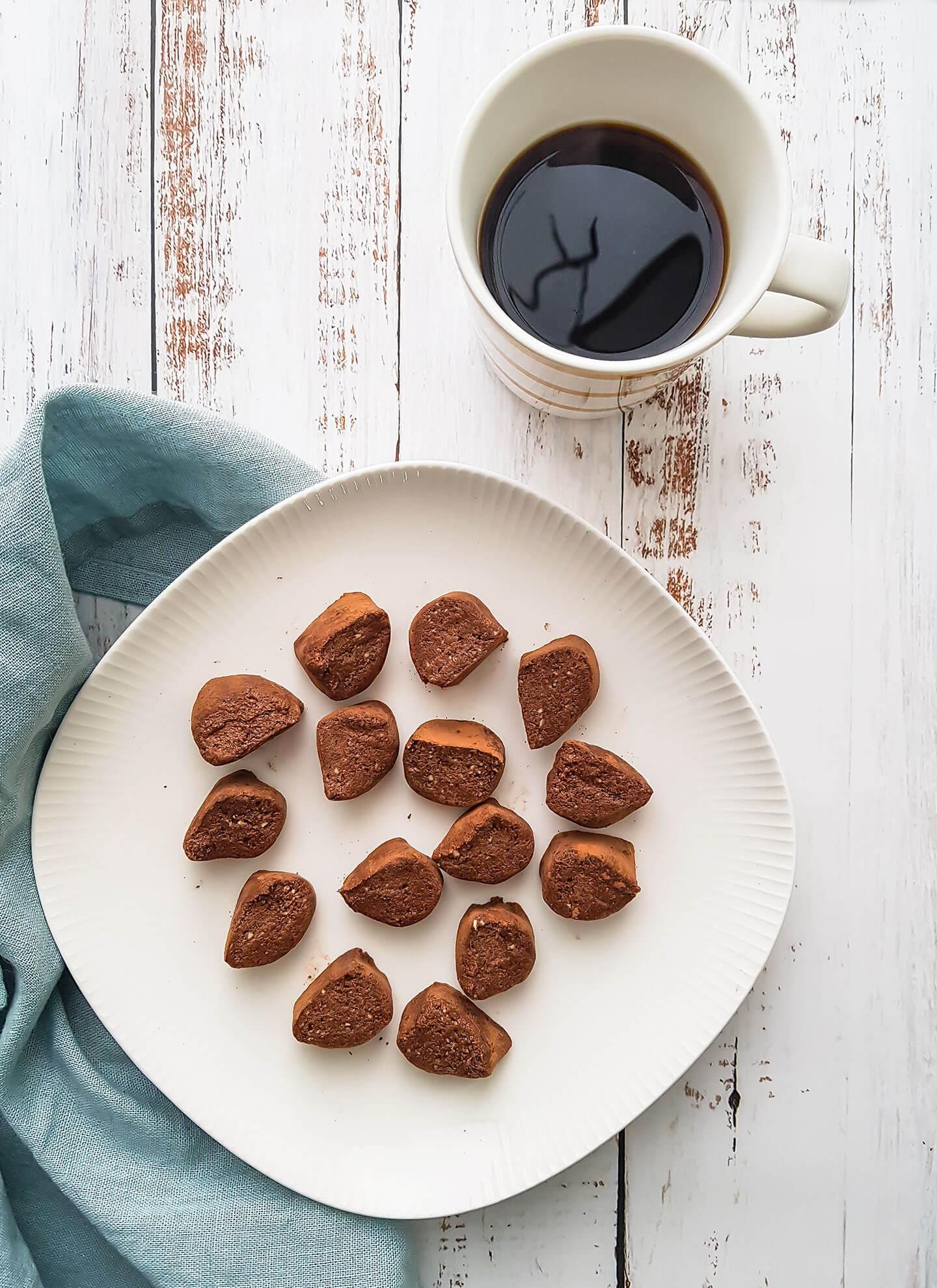 Suklaakahvi proteiininapit