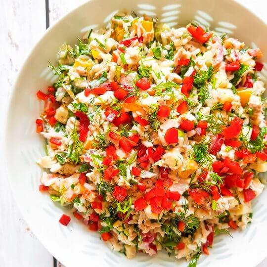 riisi-tonnikalasalaatti
