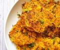 Helpot porkkana-palsternakkafritterit