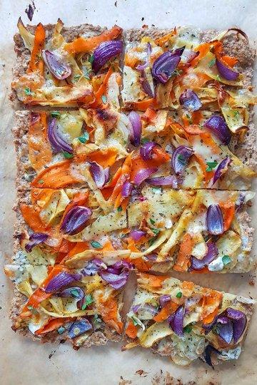 Sadonkorjuun pizza