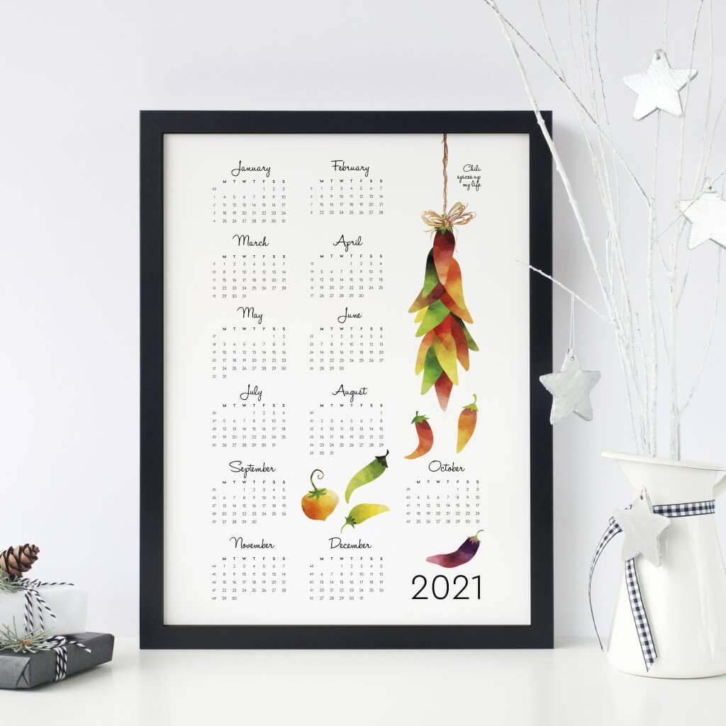 spices kalenteri