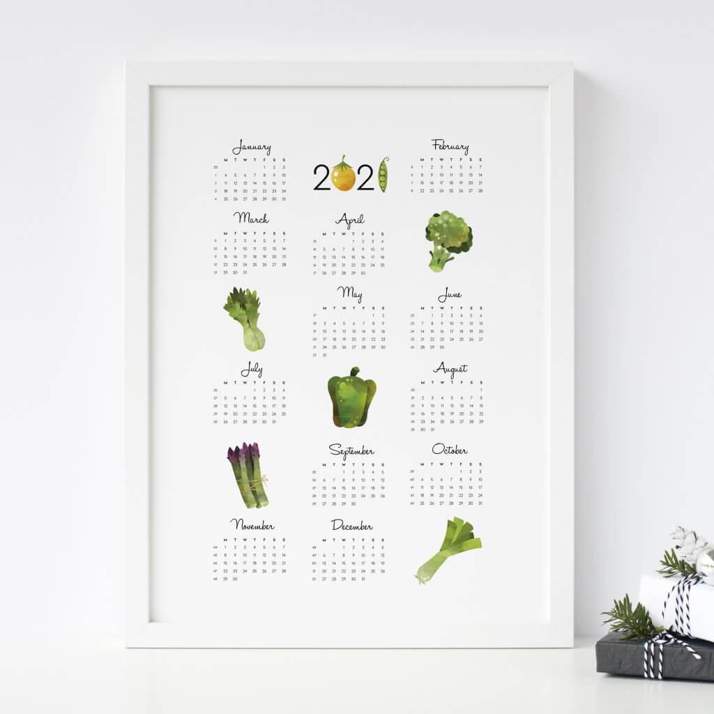 vihrea kalenteri