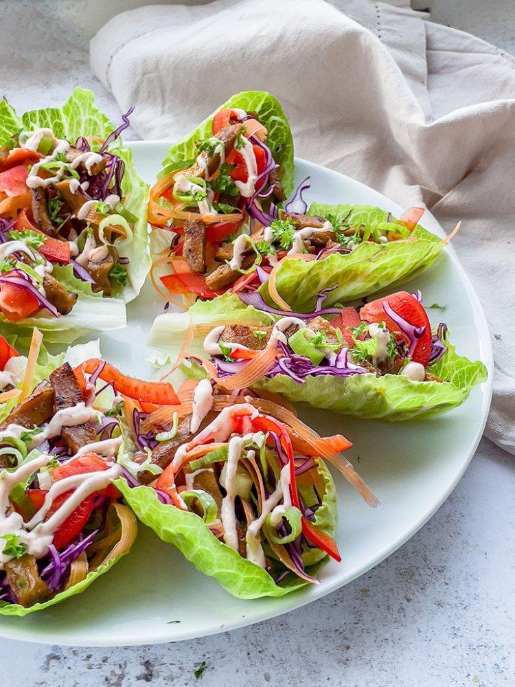 Helpot vege-salaattiwrapit