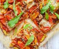 Kasvispohjainen pizza