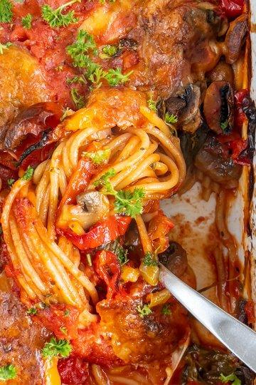 Uunispagetti