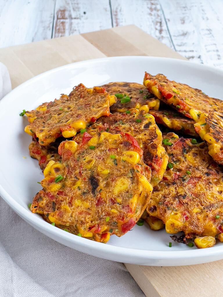 Paprika-maissipihvit