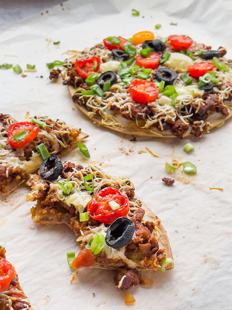 Meksikolainen tortillapizza