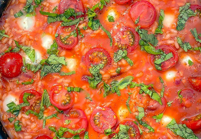 Tomaatti risotto