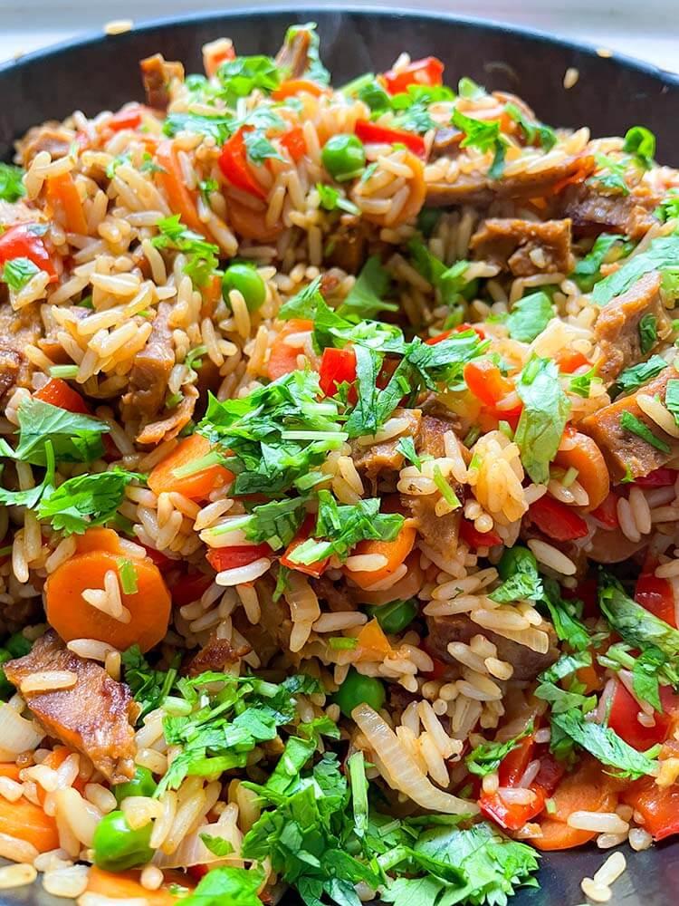 Paistettu riisi 1