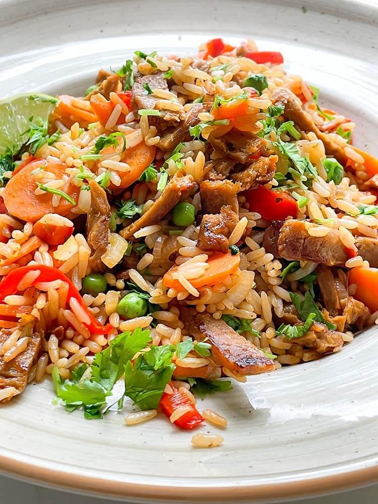 Paistettu riisi 2