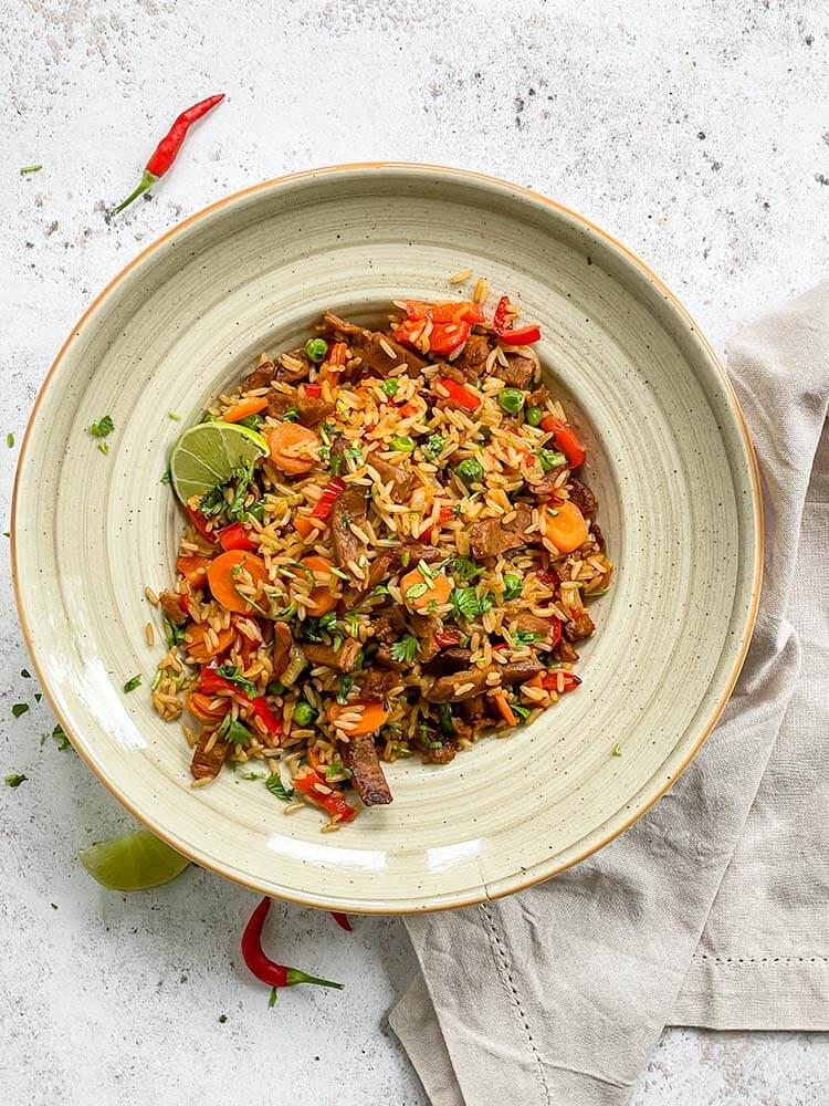Paistettu riisi 5